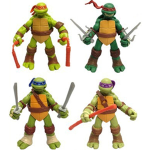TMNT - 4 Piece Action Figures Set - $22 with FREE Shipping!